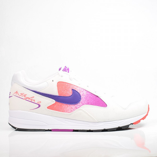 NIKE AIR SKYLON 2 WHITE/COURT PURPLE-SOLAR RED