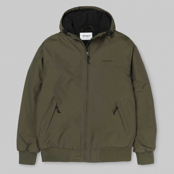 CARHARTT HOODED SALL JACKET CYPRESS/BLACK