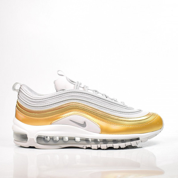 NIKE W AIR MAX 97 SE VAST GREY / METALLIC SILVER-METALLIC GOLD