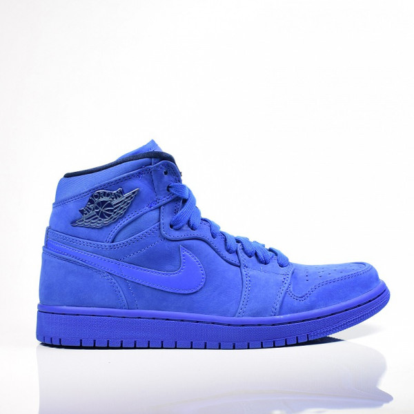 AIR JORDAN 1 RET HI PREM BLUE VOID/RACER BLUE