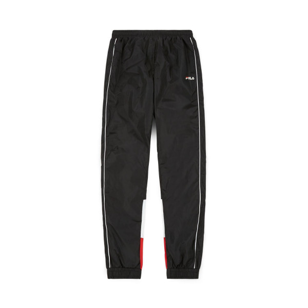 PANTALÓN FILA MENT TALMON WOVEN PANT BLACK BRIGHT WHITE TRUE RED 687024A072