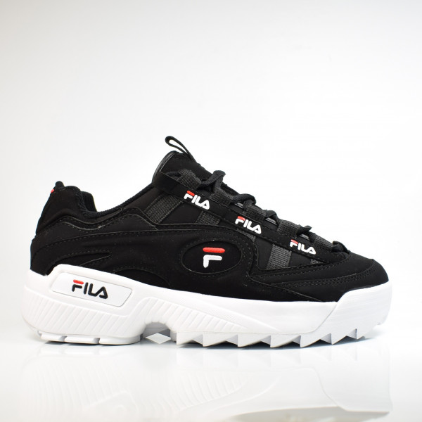 FILA D-FORMATION MEN BLACK / WHITE / FILA RED 1CM00490.014