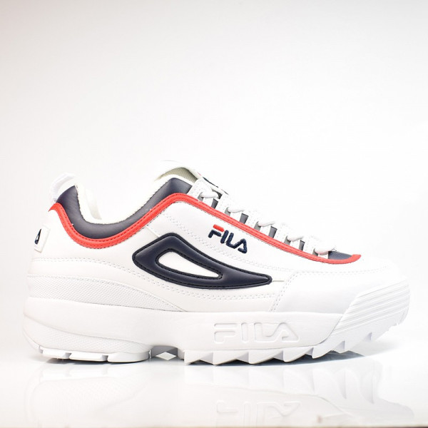 FILA DISRUPTOR CB LOW WHITE / FILA NAVY / FILA RED 1010575.01M
