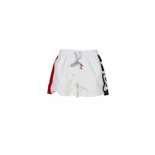 FILA MEN SWIM SHORTS BLACK BRIGHT WHITE 687205