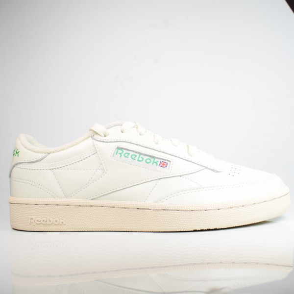REEBOK CLUB 85 C 1985 TV CHALK / PAPERWHITE / GREEN DV6434