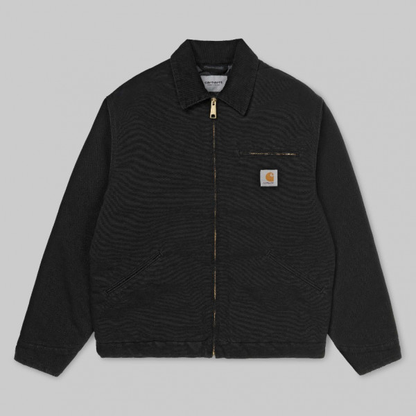CARHARTT OG DETROIT JACKET BLACK I027358