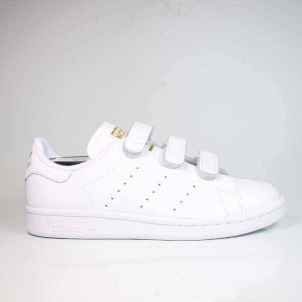 ADIDAS STAN SMITH CF FTWWHT/GOLDMT S75188