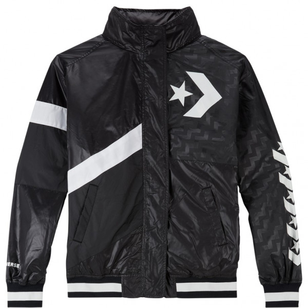 CONVERSE VOLTAGE BOMBER JACKET BLACK 10017653-A01