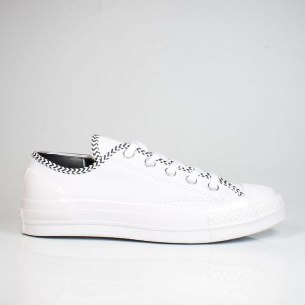 CONVERSE CHUCK 70 OX WHITE/WHITE/BLACK 565370C