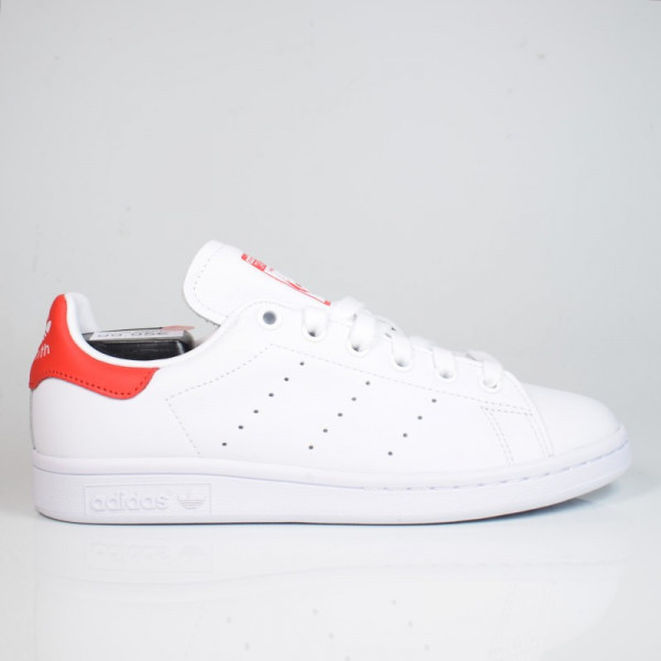 ADIDAS STAN SMITH FTWWHT/LUSRED EF4334