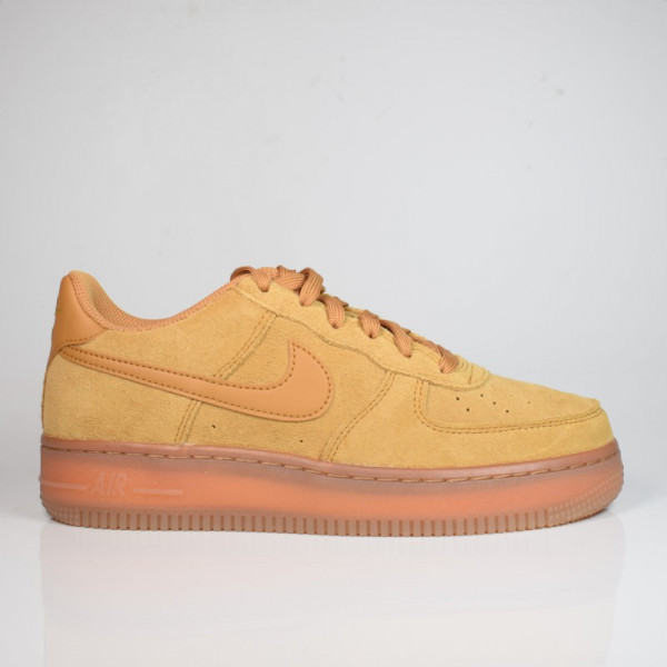 NIKE AIR FORCE 1 LV8 3 (GS) WHEAT-GUM/LIGHT BROWN BQ5485-700