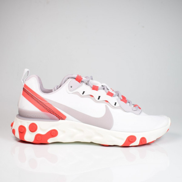 W NIKE REACT ELEMENT 55 PLATINUM TINT/SILVER LILAC BQ2728-010