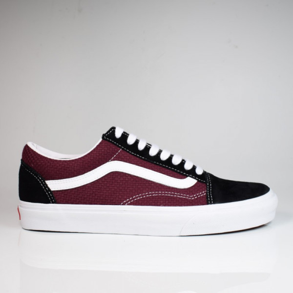 VANS OLD SKOOL (P&C) BLACK/PORT ROYALE VN0A4U3BWT91
