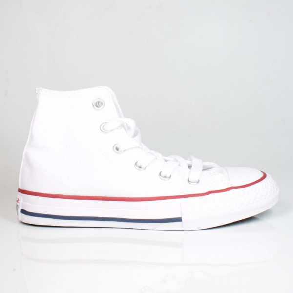 CONVERSE YOUTHS CHUCK TAYLOR ALL STAR HI WHITE 3J253C