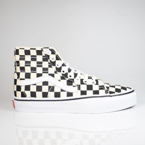VANS SK8-HI TAPERED (CHECKERBOARD) BLACK/TRUE WHITE VN0A4U165GU1