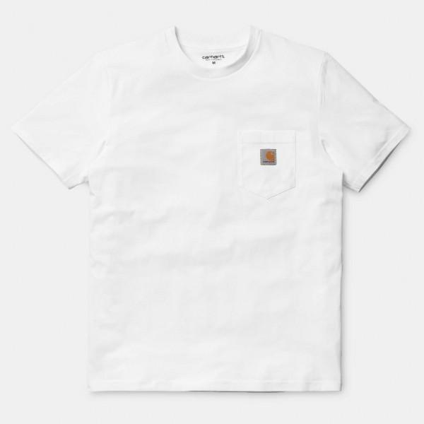 CARHARTT S/S POCKET T-SHIRT WHITE I022091