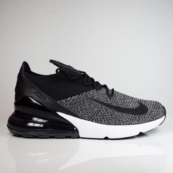 NIKE AIR MAX 270 FLYKNIT BLACK/BLACK-WHITE AO1023-001
