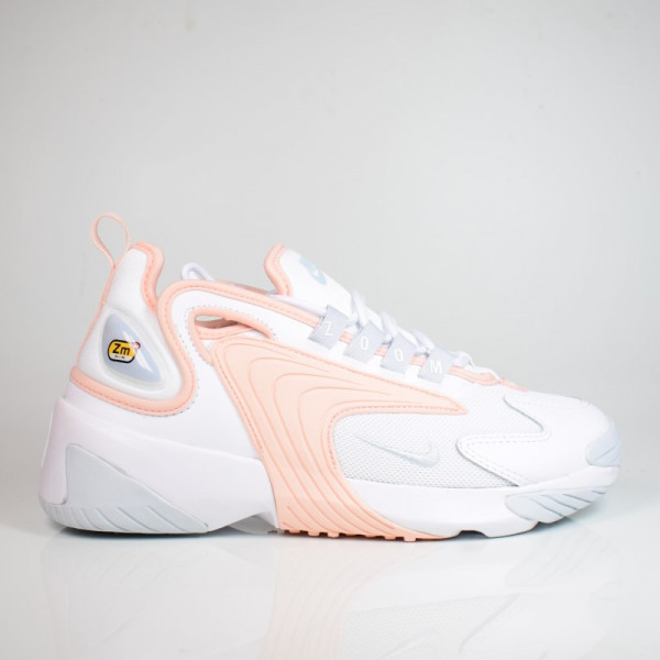 WMNS NIKE ZOOM 2K WHITE/AURA-WASHED CORAL AO0354-108