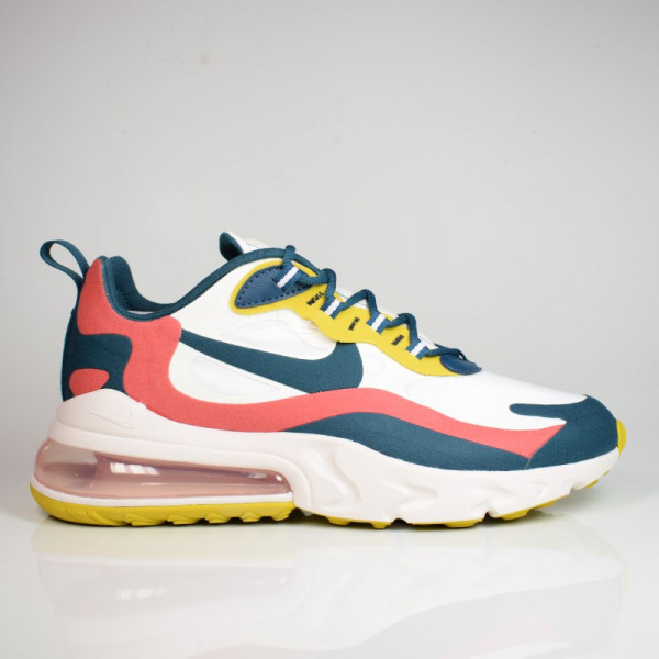 NIKE AIR MAX 270 REACT SUMMIT WHITE/MIDNIGHT TURQ CT1264-103