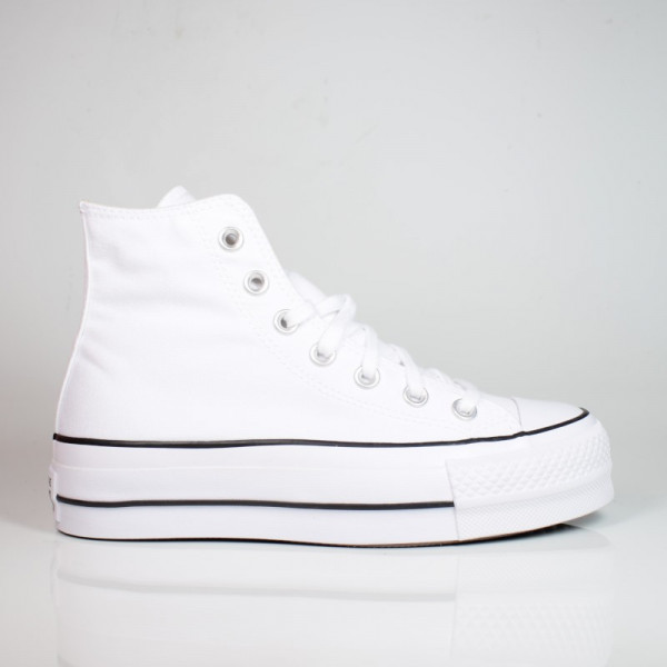 CONVERSE CHUCK TAYLOR ALL STAR PLATFORM HIGH TOP WHITE BLACK WHITE 560846C