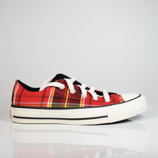 CONVERSE ALL STAR OX UNIVERSITY RED/BLACK/EGRET 568926C