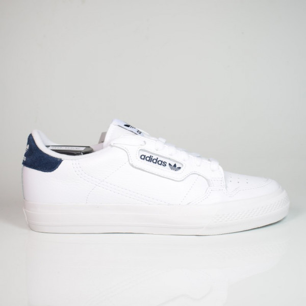 ADIDAS CONTINENTAL VULC CLOUD WHITE/COLLEGIATE NAVY EG4588