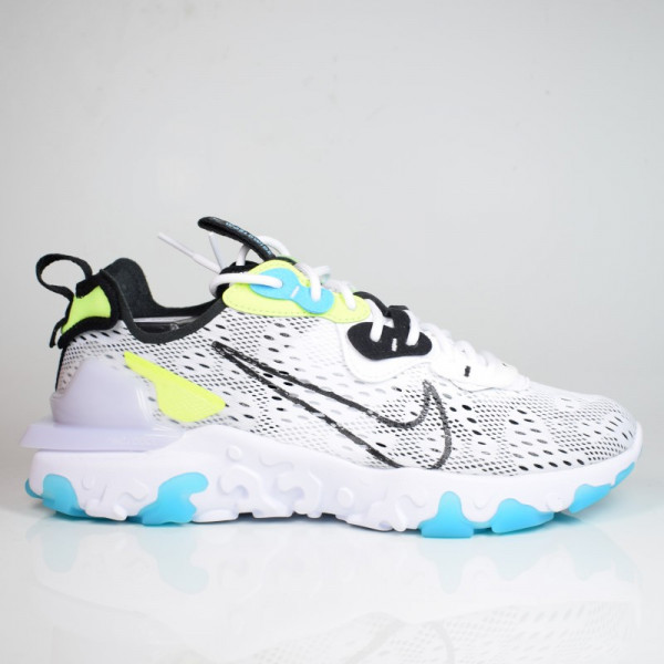 NIKE REACT VISION WW WHITE/BLACK-VOLT-BLUE FURY CT2927-100