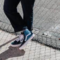VANS Sk8-Hi NavyWWW.GALIFORNIASHOP.COM#vans #sk8 #sneakers #navy #coruña