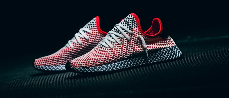 Adidas Deerrupt Runner Red Blue